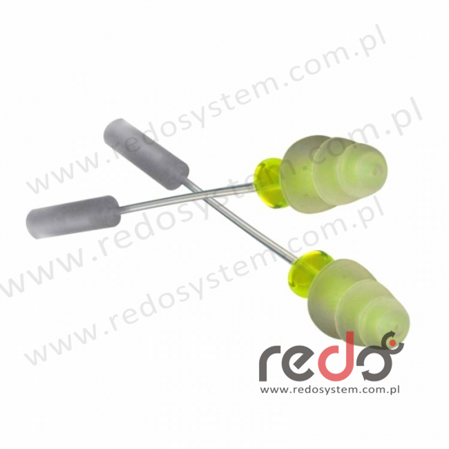 Wkładki testowe 3M™ E-A-Rsoft™ Yellow Neons (393-2001-50)