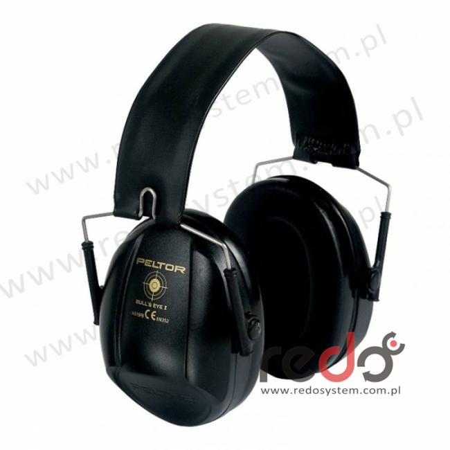Nauszniki przeciwhałasowe 3M™ BULL\'s EYE I składane, czarne  (SNR 27 dB)