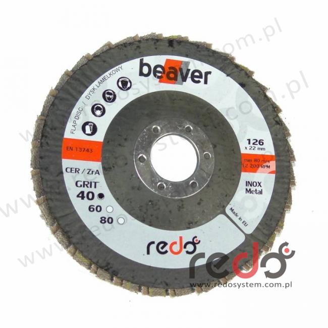 Dysk lamelkowy beaver 125 stożkowy P60