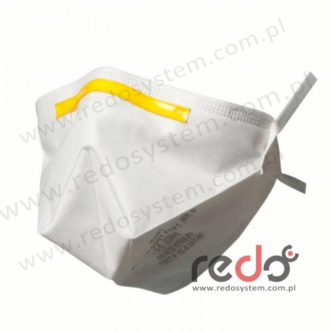 Półmaska filtrująca 3M™ K101, składana bez zaworu wydechowego klasa FFP1 4xNDS (K101)