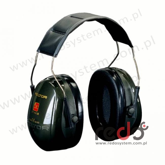 Nauszniki przeciwhałasowe 3M™ OPTIME II wersja nagłowna  (SNR 31 dB)