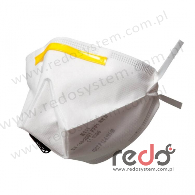 Półmaska filtrująca 3M™ K111, składana z zaworem wydechowym klasa FFP1 4xNDS (K111)