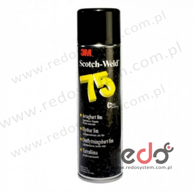 Klej w aerozolu 3M™ Spray 75 500ml