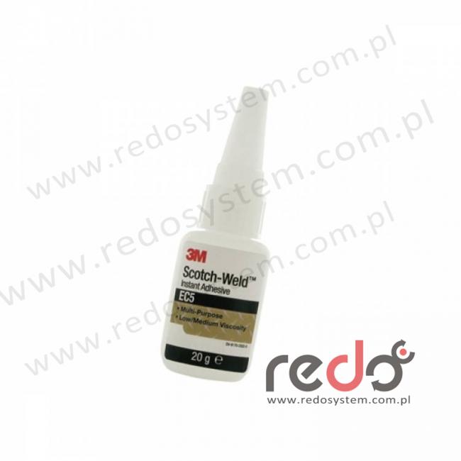 Klej Cyjanoakrylowy do uniwersalnego zastosowania 3M™ EC5 100g