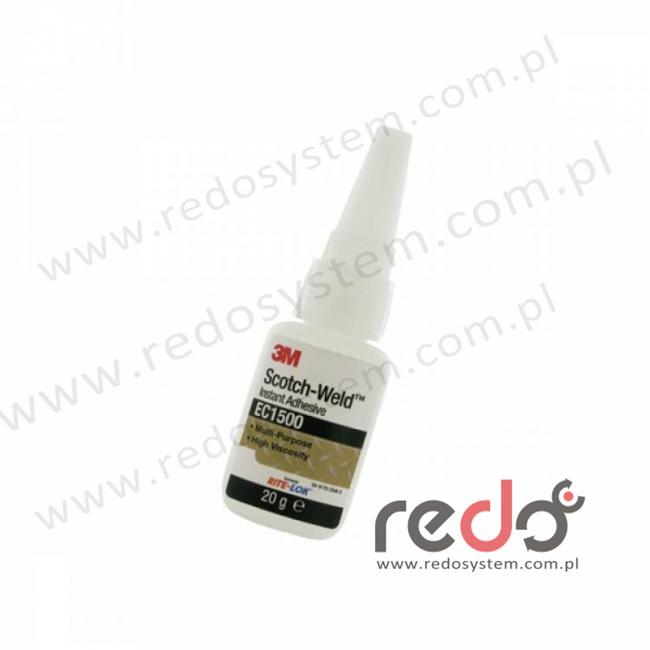 Klej Cyjanoakrylowy do uniwersalnego zastosowania 3M™ EC1500 20g