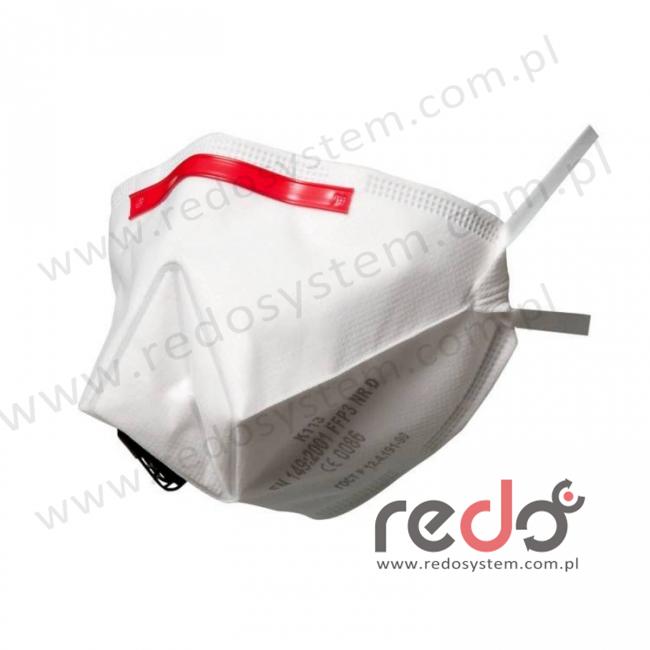 Półmaska filtrująca 3M™ K113, składana z zaworem wydechowym klasa FFP3 50 x NDS