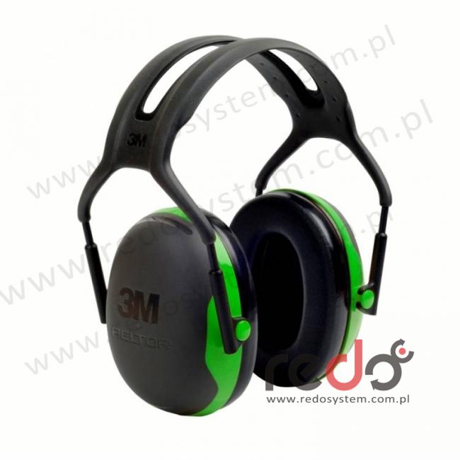 Nauszniki przeciwhałasowe 3M™ Peltor X1 wersja nagłowna  (SNR 27 dB) (X1A-EU)