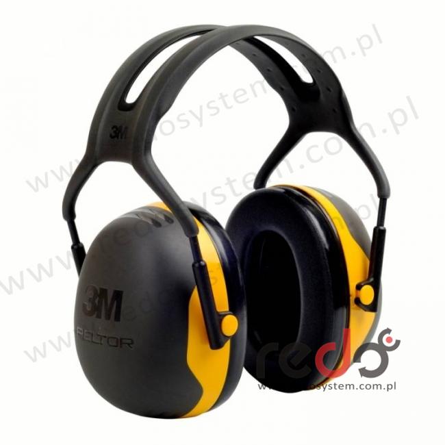 Nauszniki przeciwhałasowe 3M™ Peltor X2 wersja nagłowna  (SNR 31 dB) (X2A-EU)