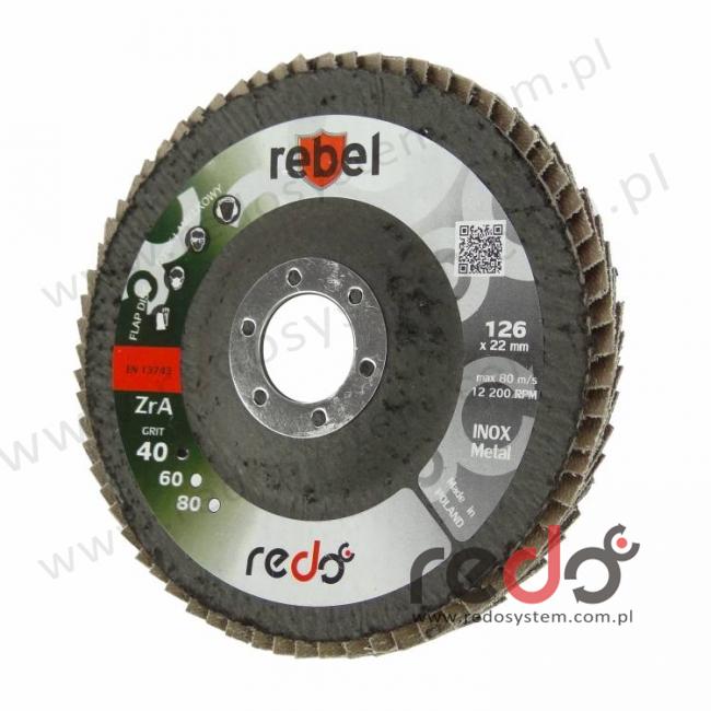 Dysk lamelkowy REBEL 125 stożkowy P60
