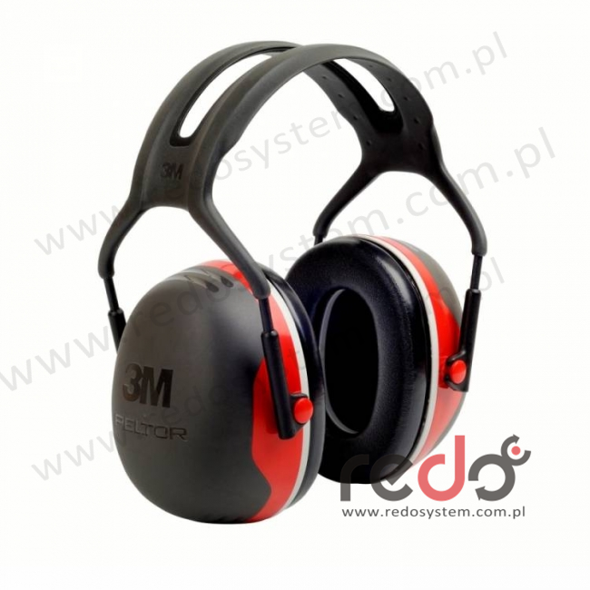 Nauszniki przeciwhałasowe 3M™ Peltor X3 wersja nagłowna  (SNR 33 dB) (X3A-EU)