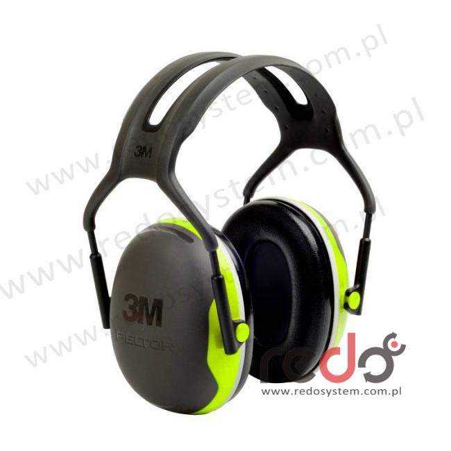 Nauszniki przeciwhałasowe 3M™ Peltor X4 wersja nagłowna  (SNR 33 dB) (X4A-EU)