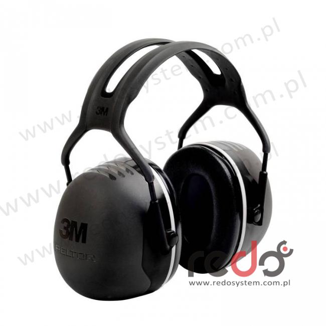 Nauszniki przeciwhałasowe 3M™ Peltor X5 wersja nagłowna  (SNR 37 dB) (X5A-EU)