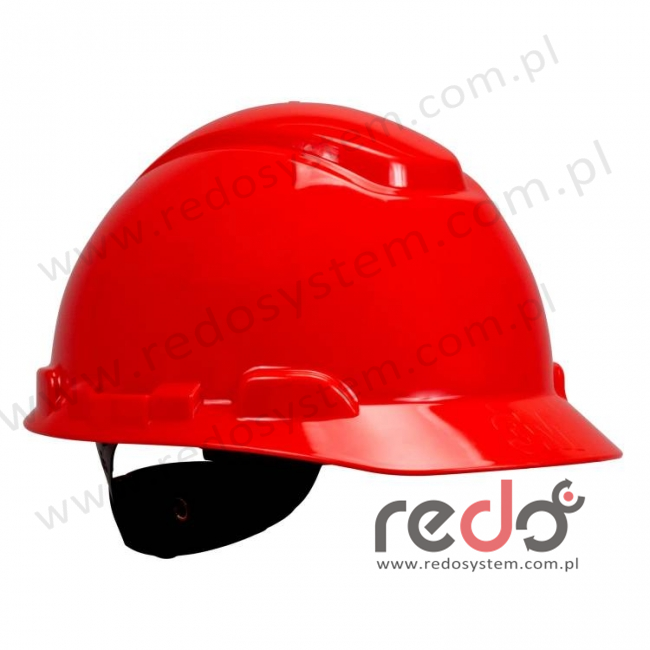 Hełm ochronny H-701 czerwony