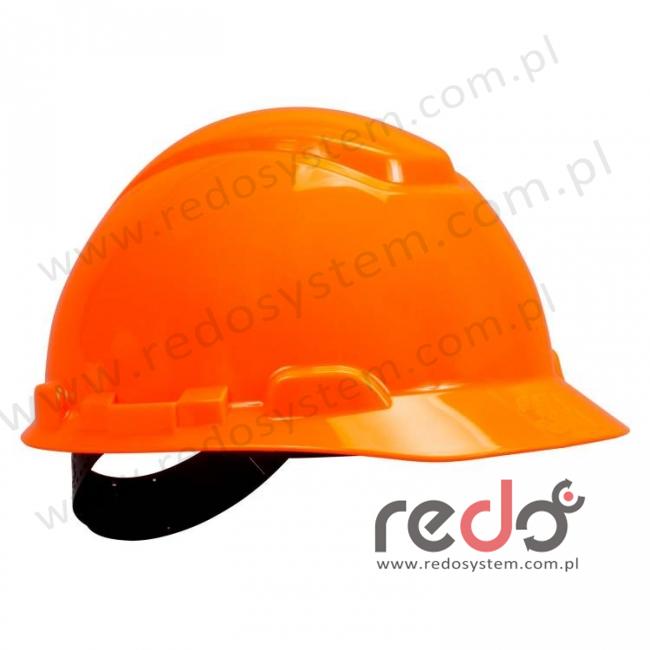 Hełm ochronny H-701 pomarańczowy