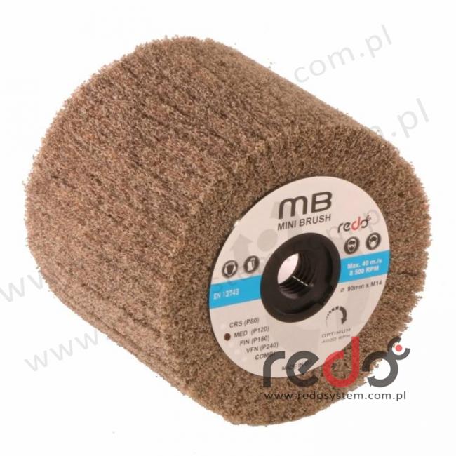 Wałek ścierny CP-MB 90x50xM14 A MED.