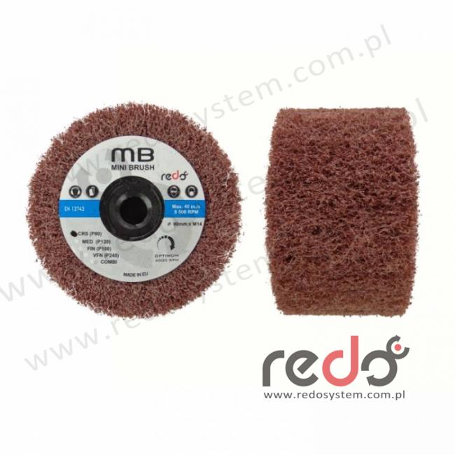 Wałek ścierny HD-MB 90x50xM14 A CRS