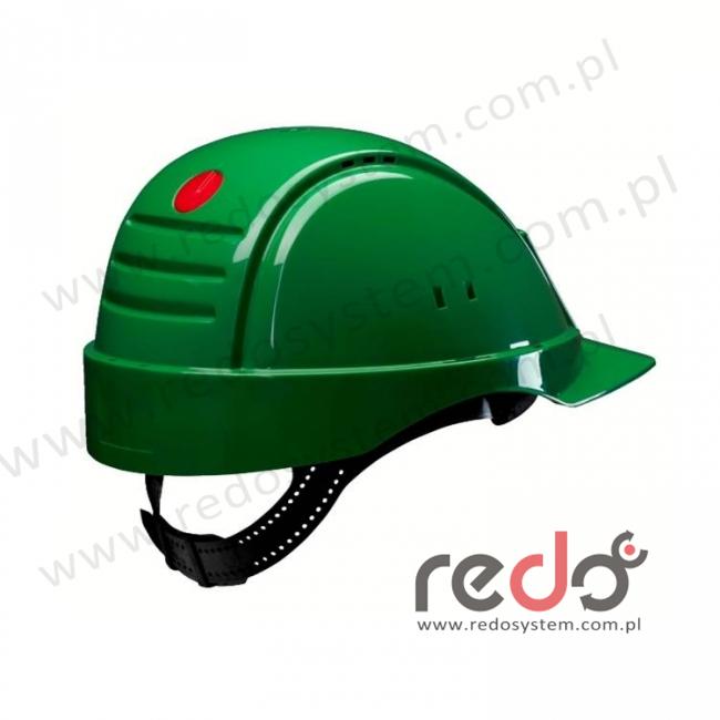 Hełm ochronny Solaris G2001 zielony CE