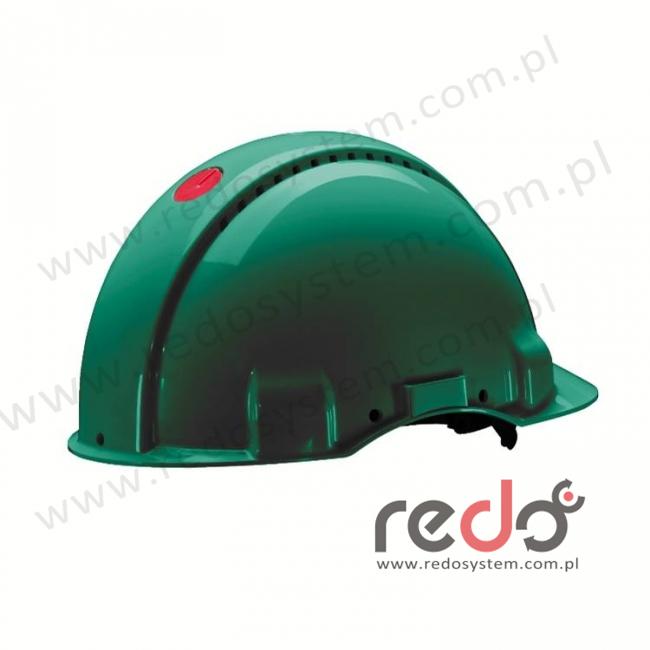 Hełm ochronny Solaris G3000 zielony (G3000DUV-GP)