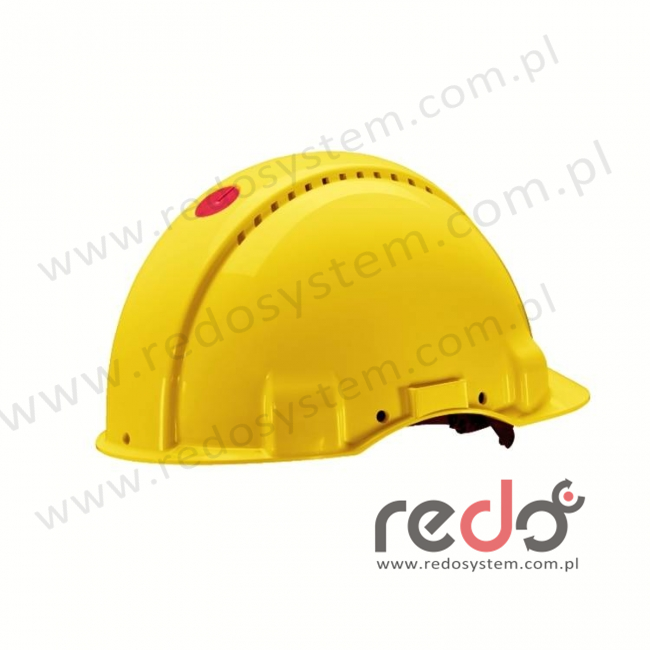Hełm ochronny Solaris G3000 żółty