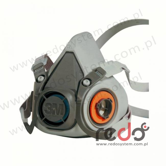 Półmaska 3M™ 6200 część twarzowa, rozmiar: M średni (6200)