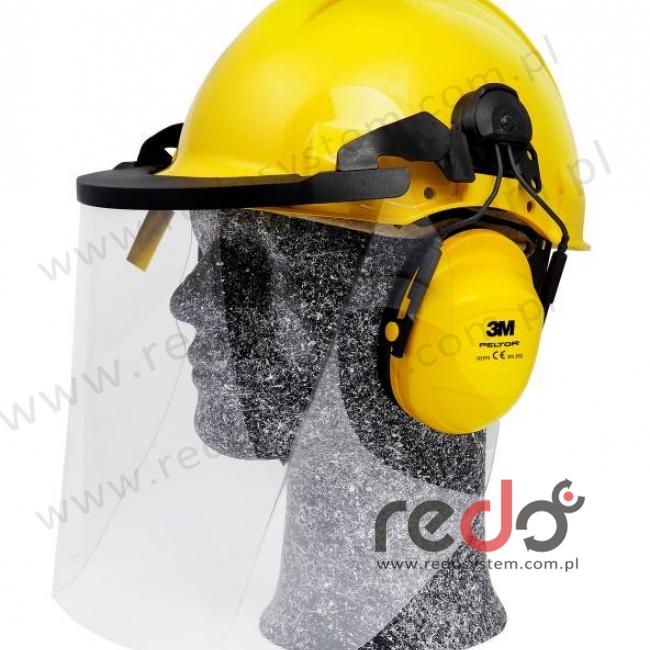 Zestaw hełmowy 1000V, G3001 / H31 / V4KK, dielektryczny, żółty (G3001MUGU31V4KK)