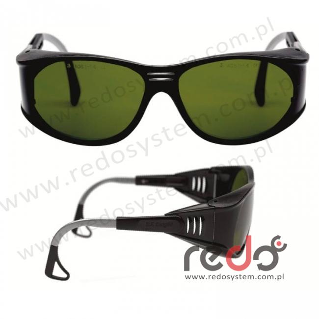 Okulary EAGLE BLACK spawalnicze AS zaciemniane 7,0 (27-3024-07M)