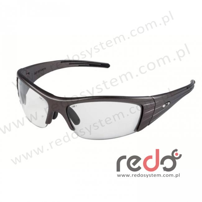 Okulary FUEL X2 kolor miedziany, bezbarwna soczewka + futerał z mikrowłókien (71506-00000M)