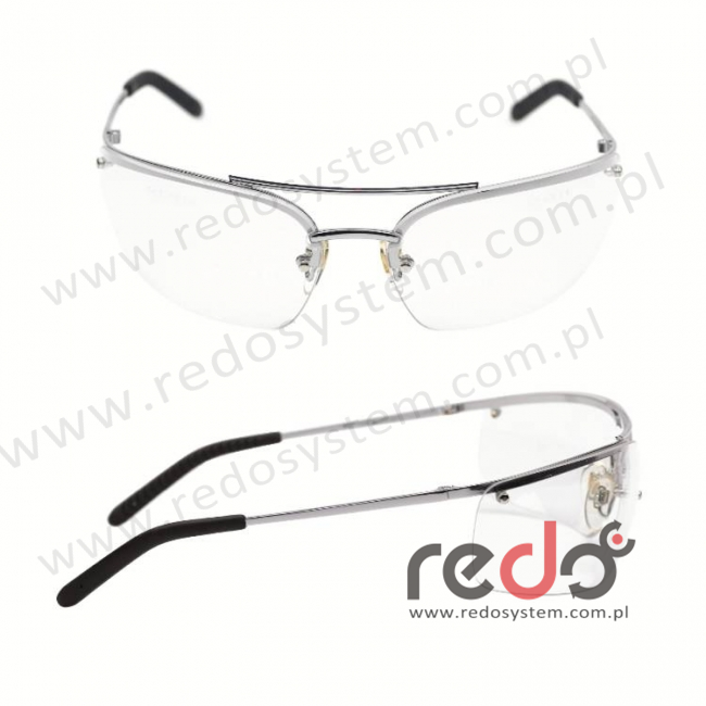 Okulary METALIKS bezbarwna soczewka AS-AF (71460-00001M)
