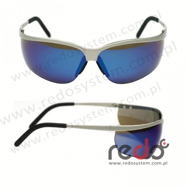Okulary METALIKS SPORT soczewka niebieska lustrzana (71461-00003M)
