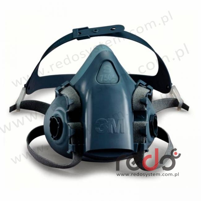 Półmaska oddechowa 3M™ 7501 część twarzowa, rozmiar: S mały  (7501)
