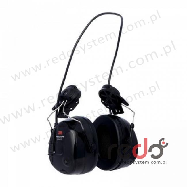 Ochronniki 3M™ PELTOR™ ProTac™ III o regulowanym tłumieniu czarne, dohełmowe (MT13H221P3E)