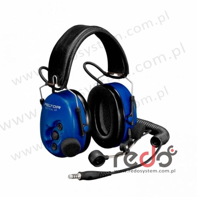Headset 3M™ Peltor™ Tactical XP ATEX standardowy o regulowanym tłumieniu - skłądany pałąk nagłowny (MT1H7F2-51)