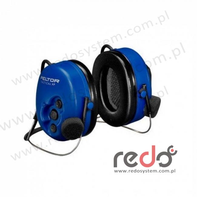 Headset 3M™ Peltor™ Tactical XP ATEX standardowy o regulowanym tłumieniu - nakarkowy (MT1H7B2-51)