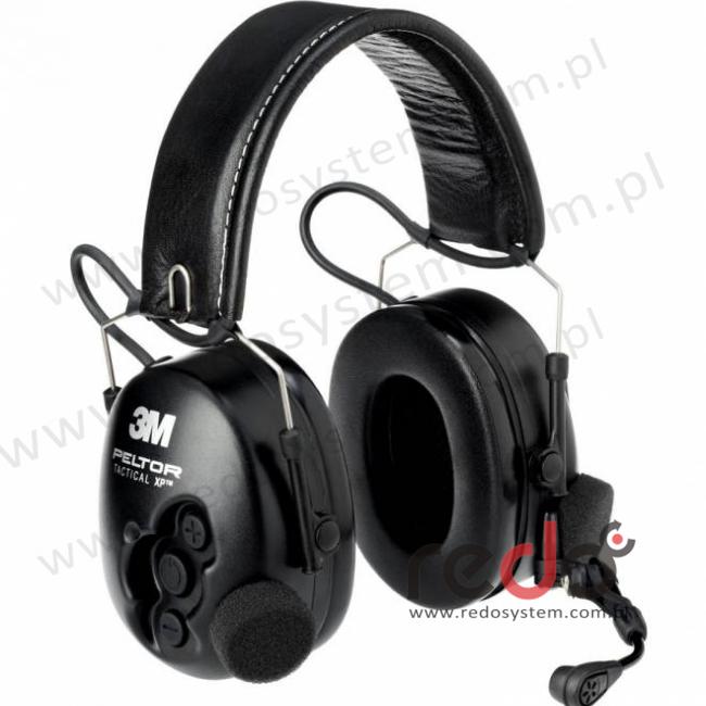 Headset 3M™ Peltor™ Tactical XP Flex  o regulowanym tłumieniu składany pałąk nagłowny (MT1H7F2-77)