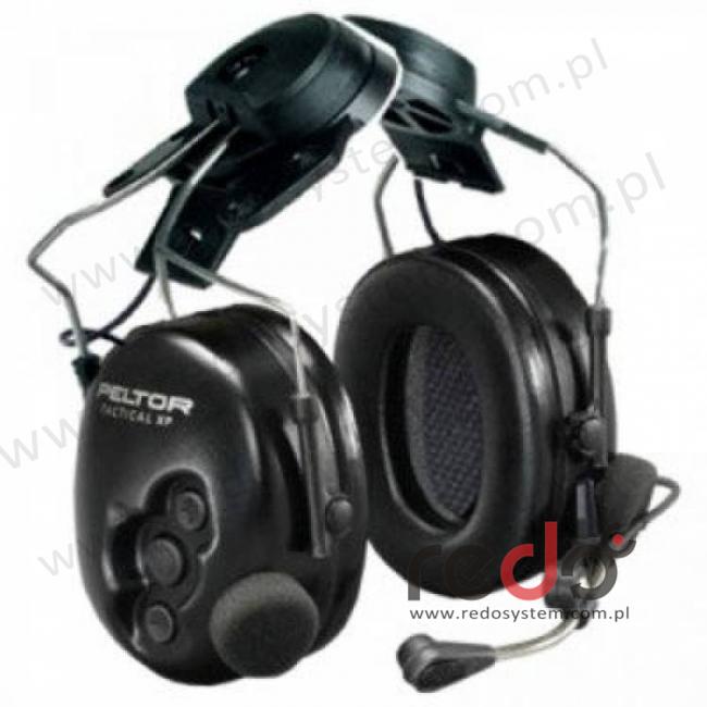 Headset 3M™ Peltor™ Tactical XP Flex o regulowanym tłumieniu nahełmowy (MT1H7P3E2-77)