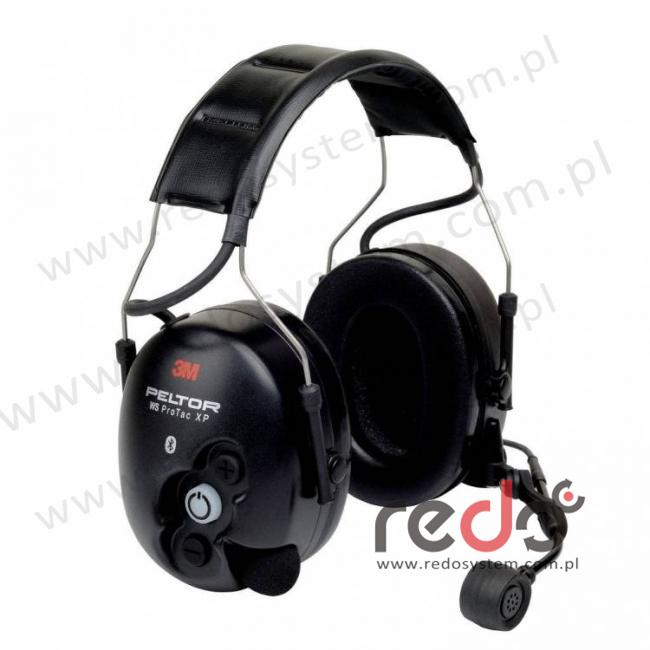 Ochronniki słuchu 3M™ Peltor™ WS ProTac XP bluetooth o regulowanym tłumieniu (nagłowna) (MT15H7AWS5)