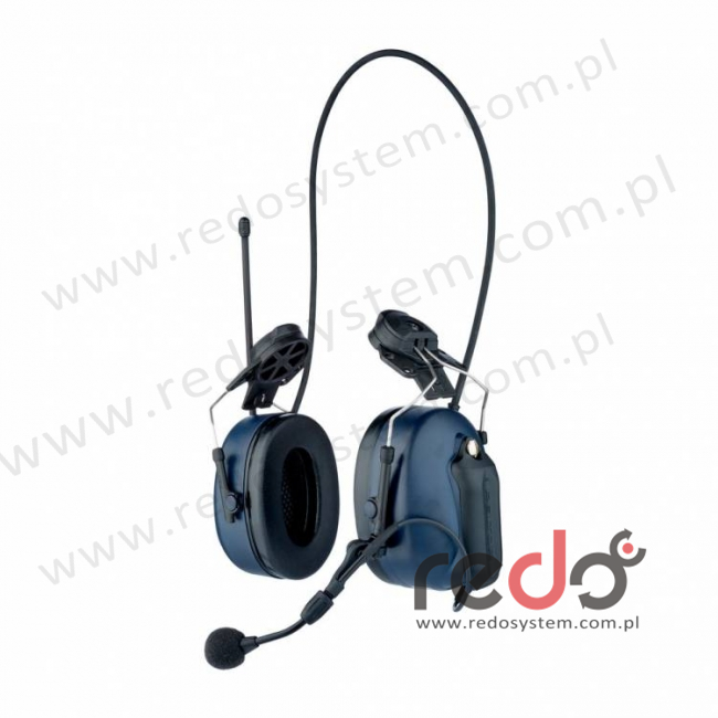 3M™ Peltor™ LiteCom z wbudowanym radiotelefonem PMR 446 MHz wersja nahełmowa (MT53H7P3E4400-EU)