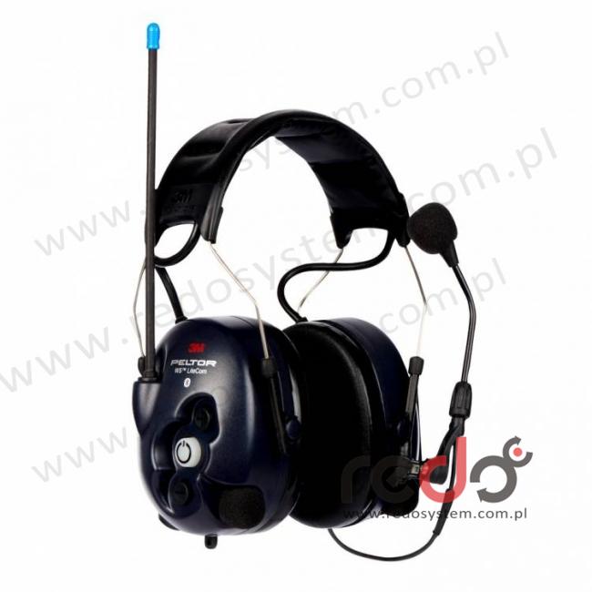 3M™ Peltor™ LiteCom WS o regulowanym tłumieniu z wbudowanym radiotelefonem PMR 446 MHz oraz modułem Bluetooth wersja nagłowna (MT53H7A4410WS5)