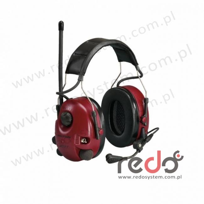 Ochronnik słuchu 3M™  Peltor™ Alert z radiem AM/FM  z funkcją regulowanego tłumienia przeznaczony do komunikacji dwukierunkowej - nagłowny (M2RX7A-77)