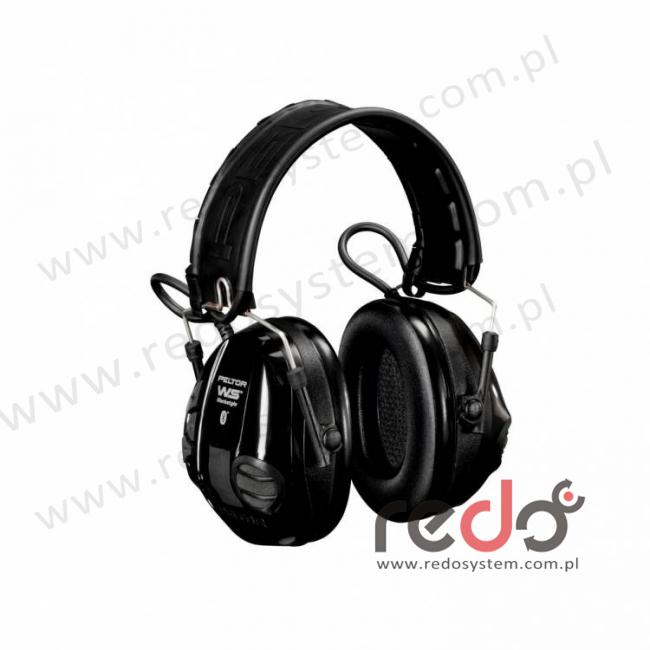 Słuchawki 3M™ WorkStyle WS Bluetooth z zewnętrznym mikrofonem pojemnościowym wersja nagłowna  z funkcją regulowanego tłumienia przeznaczony do komunik