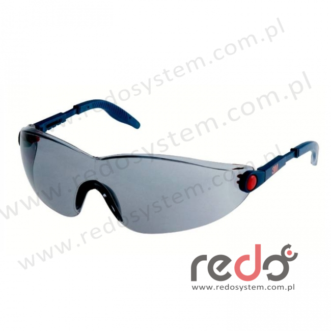 Okulary ochronne 2741 szare AS-AF (2741)