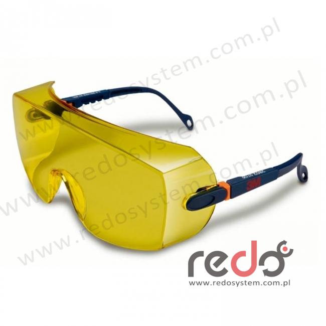 Okulary ochronne 2802 AS żółte