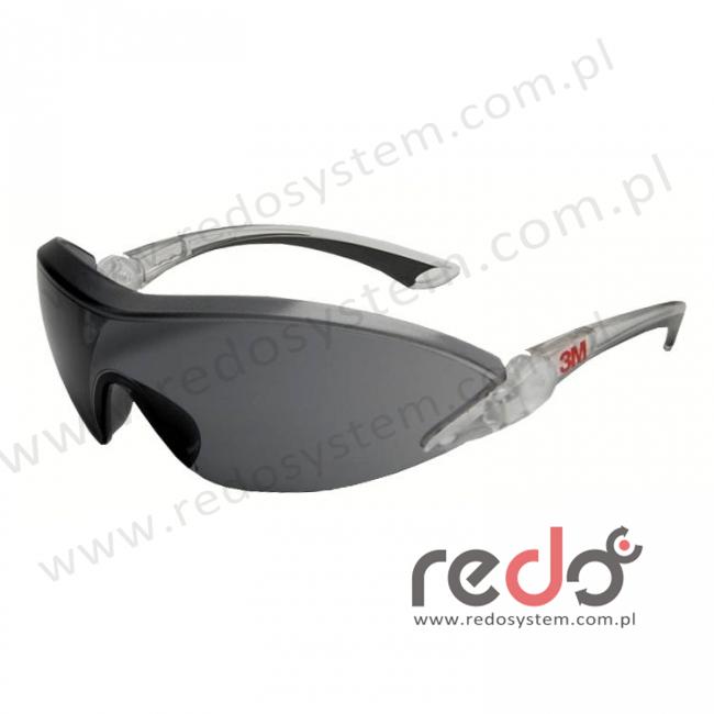 Okulary ochronne 2841 szare AS-AF