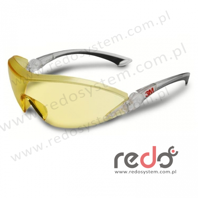 Okulary ochronne 2842 żółte AS-AF (2842)
