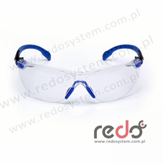 SOLUS S1101SGAF-EU Zausznik niebieski/czarny + przezroczyste soczewki PC (S1101SGAF-EU)