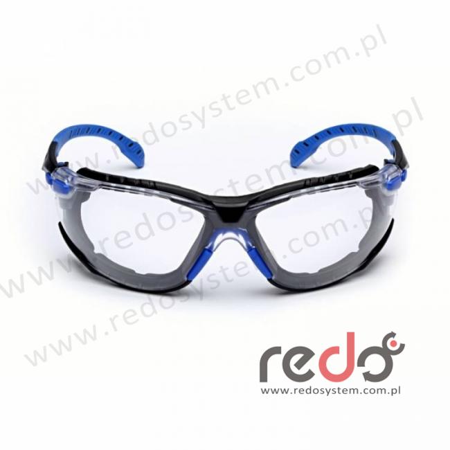 SOLUS S1101SGAFKT-EU Zestaw zausznik niebieski/czarny + przezroczyste soczewki (S1101SGAFKT-EU)