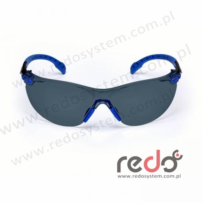 SOLUS S1102SGAF-EU Zausznik niebieski/czarny + szare soczewki PC (S1102SGAF-EU)