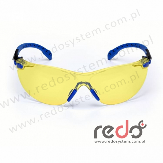 SOLUS S1103SGAF-EU Zausznik niebieski/czarny + żółte soczewki PC (S1103SGAF-EU)