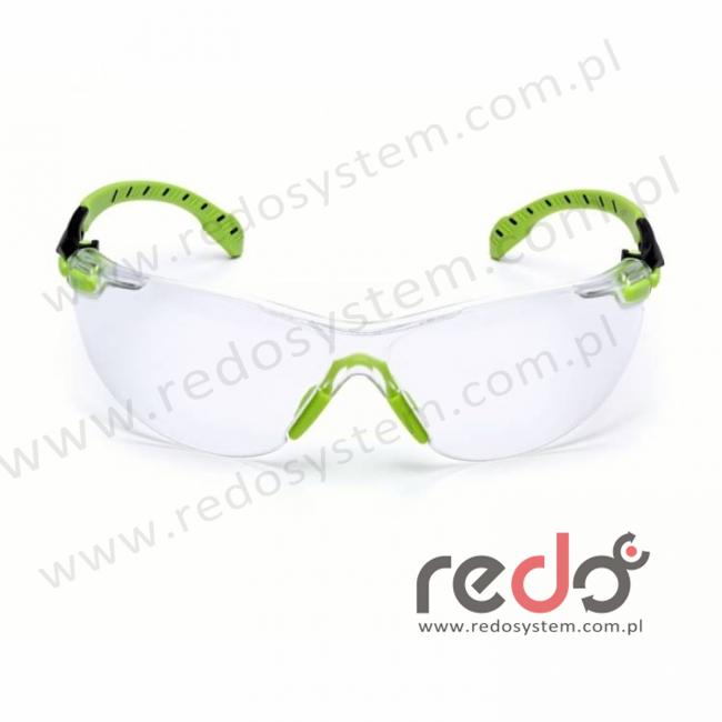SOLUS S1201SGAF-EU Zausznik zielony/czarny + przezroczyste soczewki PC (S1201SGAF-EU)