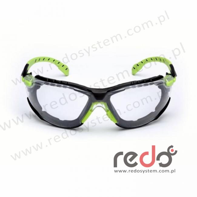 SOLUS S1201SGAFKT-EU Zestaw zausznik zielony/czarny + przezroczyste soczewki (S1201SGAFKT-EU)